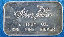 Vintage Silvertowne 1 Ounce .999 Silver Art Bar