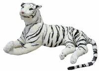 Peluche Tigre Blanca Panthera Tigris Tigres Suave Gran Más 210 CM Cola De