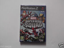 MARVEL SUPER HERO SQUAD for PLAYSTATION 2 'RARE & HARD TO FIND'