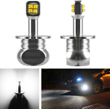H3 Led Fog Bulb Daytime Lights Auto Car Drl Driving Lamp 1500Lm 6000K White 12V(Fits: Neon)