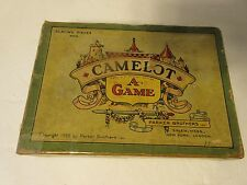 Vintage 1930 CAMELOT Board Game by Parker Brothers, Greatest of Modern Games!