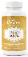 My Maca 100 Kapseln 300mg Maca Extrakt 20:1 - entspricht 6000 mg Maca-Pulver