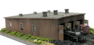 Banta Model Works 2062 HOn3 Laser Cut Wood Sargents Roundhouse