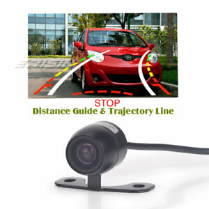 Rear View Camera Mini 170° Universal Reverse Guide Line PAL Sony CCD PC3089 581