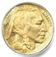 1924-S Buffalo Nickel 5C - Certified ICG MS60 Details - Rare Date Coin!