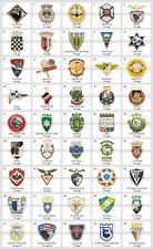Metal Pin Portugal Football Clubs European Soccer Part 1