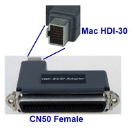 PTC Mac HDI-30 to Centronics 50 (Female) SCSI Adapter for Apple Powerbook