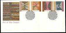AUSTRALIA NATIVE PEOPLE ABORIGINAL ART & PAINTINGS FIRST DAY COVER  GOOD 2 FRAME