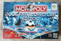Germany 2006 FIFA Football World Cup Monopoly Board Game - COMPLETE Parker Bros