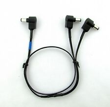 Effects Pedal Power Cable Y current doubler Two 9 volts to one 9 volt