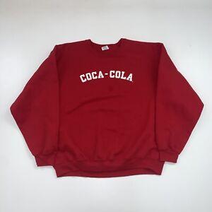 Vintage Coca-Cola Red Crewneck Sweatshirt Size XL