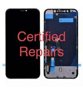 INCELL LCD Touch Screen Digitizer Assembly+Back Plate Replacement for iPhone 11