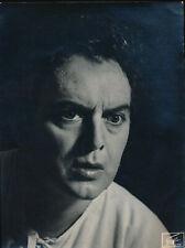 Will Quadflieg (1914-2003): Eigenhändiger Brief mit Unterschrift (1984).