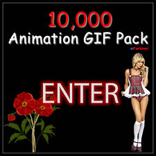 10000 GIF Animation Website, Banner, eMail Clip Art CD