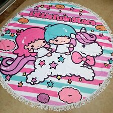 little twin stars swimming towel bathing towels circle blanket unisex gift