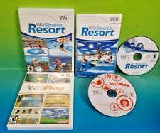 Wii Sports Resort & Wii Play Nintendo Wii and Wii U Game 2 Awesome Games Complet