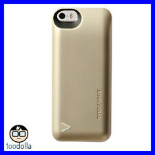 Boostcase Hybrid Power Case two piece design, battery pack, iPhone 5/5s/SE, Gold