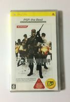 USED PSP Metal Gear Solid Portable Ops PSP the Best JAPAN PlayStation Portable