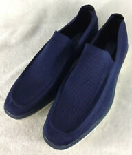Oak & Rush Men's 'Agent' Navy Casual Knit Loafers Slip On Shoes Size 12 M Euc