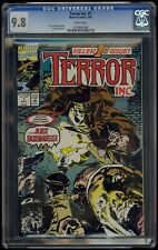 Terror Inc (1992) #1 CGC 9.8 Blue Label White Pages Jorge Zaffino Cover & Art