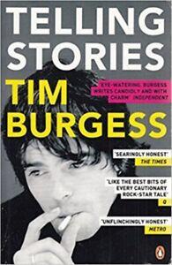 TIM BURGESS Telling Stories Book *NEW*