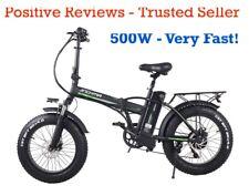 500W Powerful 20 inch Fat Tyre Electric Bike, 48v 15Ah battery - LOW PRICE