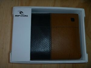 RIP CURL Multi SLIM Leather wallet Brown Brand new in box RRP$60