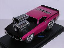 Muscle Machines 1970 Plymouth Cuda 70 Hemi Mopar Street Costco 5800 pc Show 1:18