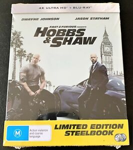 Fast & Furious presents Hobbs & Shaw - New 4K + Blue-ray - Free tracked delivery