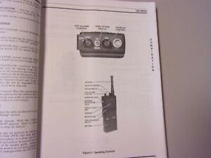 Vintage Manual GE General Electric MPI 2 Maintenance Radio FM Mobile VHF