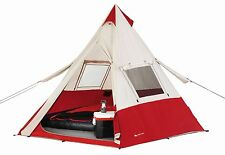 7 Person Teepee Tent Ozark Trail Camping Hiking Outdoors