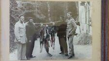 Photo retour de chasse aux isards (chamois) Pyrénées - 1949