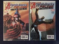 Captain America and Falcom Disassembled # 5 and 7 Marvel Comics 2004 NM