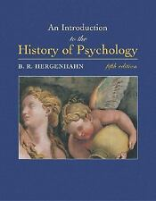 An Introduction to the History of Psychology (with InfoTrac )