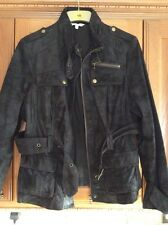 Ladies Brown Suede Jacket