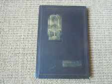 The Orange Peal, Albany College Yearbook- 1930, Albany Oregon