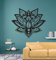 Mandala Flower Floral Transfer Wall/ Laptop Art Sticker Decal Home Decor Large