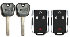 2 GMC 2014-2017 B119 Transponder key + Remote Fob M3N-32337100 USA Seller