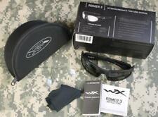 Wiley X Romer 3 Smoke & Clear Lenses Black Matte 100% UVA/UVB Protection #1004