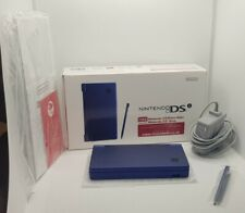 Nintendo DSi (Metallic Blue) **BOXED & COMPLETE** **SUPERB CONDITION** Gaming.