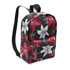 Women's Backpack - Tropical Flow Style 11X16X4 carry w/ zipper pouch