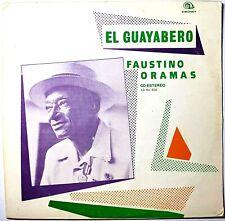 NEAR MINT EXTREMELY RARE LP FAUSTINO ORAMAS EL GUAYABERO 1989 CUBA SON LATIN