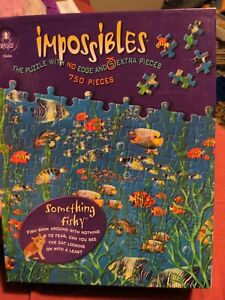 Impossibles Puzzle - No Edge and 5 extra pieces