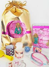 Barbie party/loot bags with 8 items inside