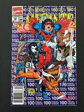 THE NEW MUTANTS #100 MARVEL COMICS 1991 NM NEWSSTAND EDITION