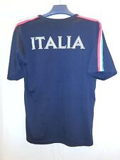 Italia Italy Soccer Jersey Shirt XL EUC Very Soft Black with Red White Green