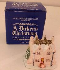 A Dickens Christmas SCROOGE HOME Vintage 1988 RSVP Miniature Cottage Box