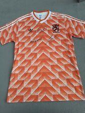 More details for triple signed holland 1988 world cup shirt ,gullit,van basten ,rikjaard coa bnwt