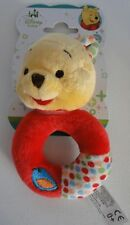 WINNIE THE POOH BABY'S  SOFT RATTLE