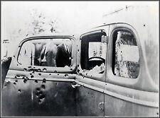 Photo: Bonnie & Clyde Ford V8 Death Car, 1934